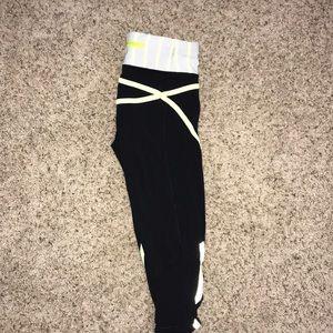 Size 2 lululemon crop leggings.